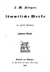 Sämmtliche Werke in 12 Bänden: Band 10