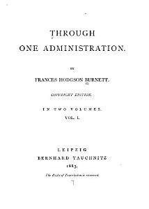 Through One Administration PDF