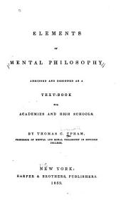 Elements of Mental Philosophy Abridged