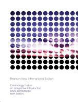 Criminology Today  Pearson New International Edition PDF eBook PDF