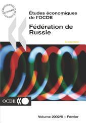Études économiques de l'OCDE : Fédération de Russie 2002