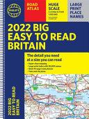 2022 Philip's Big Easy to Read Britain Road Atlas