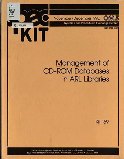 Management of CD ROM Databases in ARL Libraries PDF