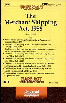The Merchant Shipping Act  1958 PDF