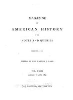 The Magazine of American History with Notes and Queries PDF