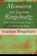 Memoiren Von Joachim Ringelnatz PDF
