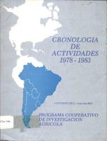 Cronologia de Actividades PDF