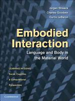 Embodied Interaction PDF