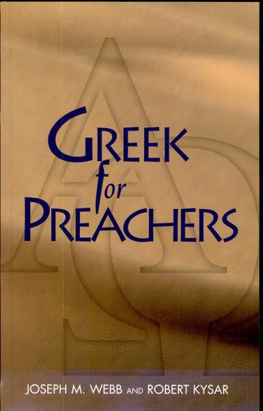 Greek for Preachers PDF