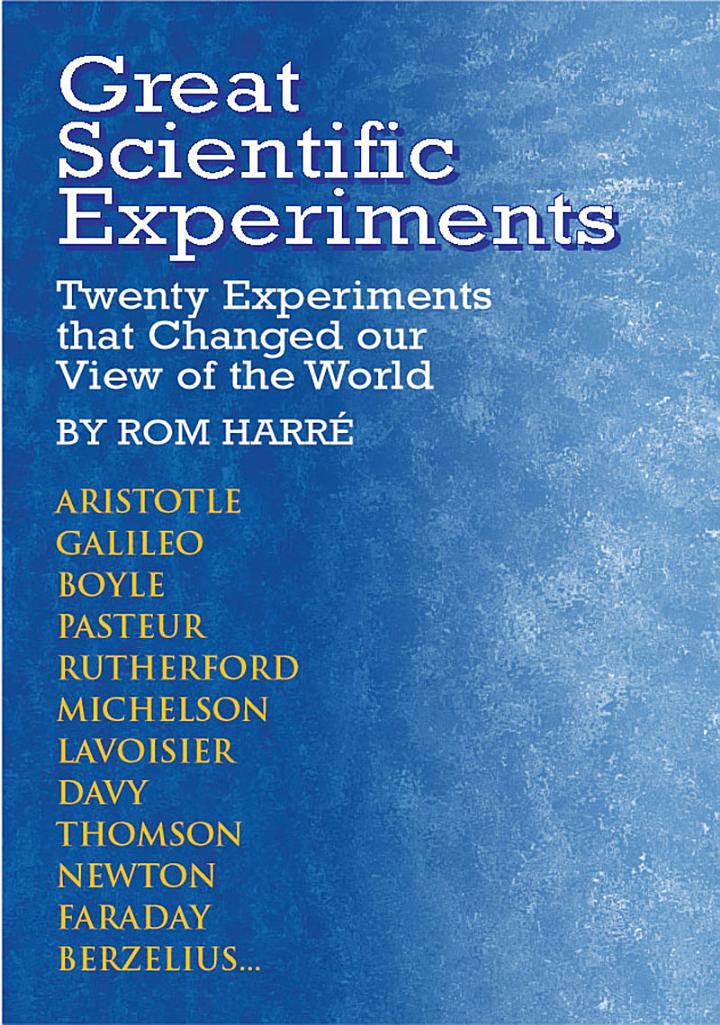 Great Scientific Experiments