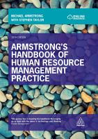 Armstrong s Handbook of Human Resource Management Practice PDF