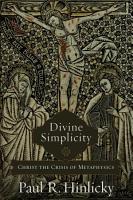 Divine Simplicity PDF