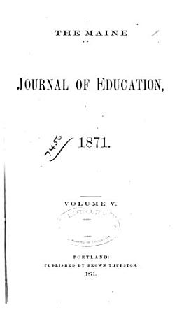 The Maine Journal of Education PDF