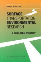 Surface Transportation Environmental Research PDF