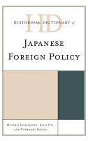 Historical Dictionary of Japanese Foreign Policy PDF