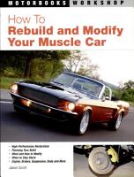 How to Rebuild and Modify Your Muscle Car PDF