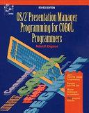 Download OS 2  Presentation Manager Programming for COBOL Programmers Book