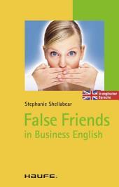 False Friends: TaschenGuide