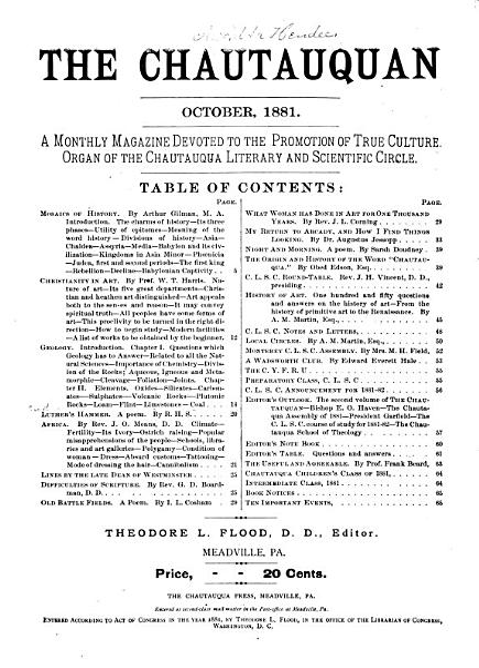 The Chautauquan PDF