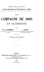La Campagne de 1805 en Allemagne: Du Rhin au Danube