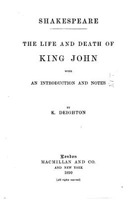 The Life and Death of King John PDF