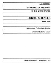 A Directory of Information Resources in the United States PDF