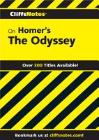 CliffsNotes on Homer s The Odyssey PDF