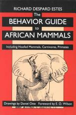 The Behavior Guide to African Mammals PDF