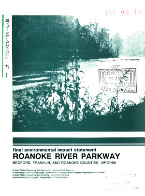 Roanoke River Parkway Construction  Bedford County PDF