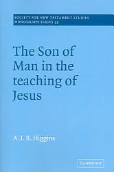 The Son Of Man In The Teaching Of Jesus Book PDF