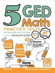 5 GED Math Practice Tests PDF