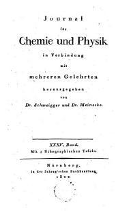 Journal für Chemie und Physik: Band 35