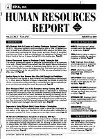 BNA Human Resources Report PDF