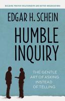 Humble Inquiry PDF