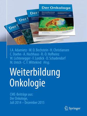 Weiterbildung Onkologie PDF