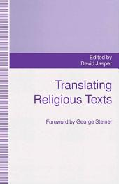 Translating Religious Texts: Translation, Transgression and Interpretation