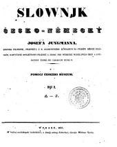 Slownjk česko-némecký: A-J