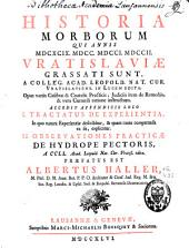 Historia morborum qui annis MDCXCIX, MDCC, MDCCI, MDCCII, Vratislaviae grassati sunt