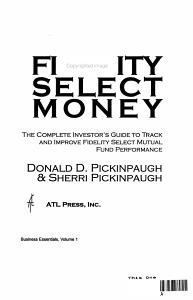 Fidelity Select Money PDF