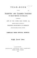 The Year book of the Scientific and Learned Societies of Great Britain and Ireland PDF