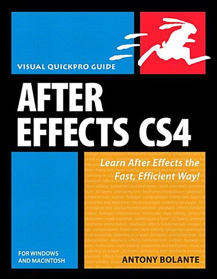 After Effects CS4 for Windows and Macintosh PDF