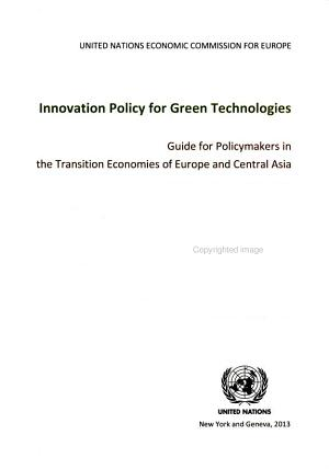 Innovation Policy for Green Technologies PDF