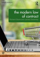 The Modern Law of Contract: Edition 12