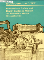 Occupational Safety and Health Guidance Manual for Hazardous Waste Site Activities PDF
