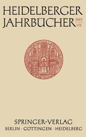 Heidelberger Jahrbücher: Band 7