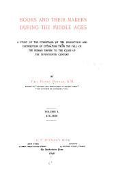Books in manuscript. pt. II. The earlier printed books