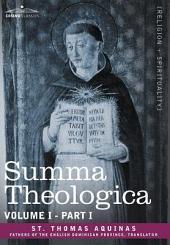 Summa Theologica, Volume 1