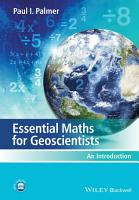 Essential Maths for Geoscientists PDF