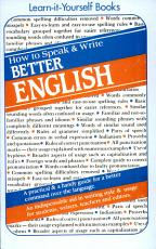 How To Speak And Write Better English PDF