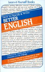How To Speak And Write Better English